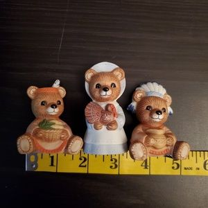 Home Interiors Accents - Bear Figurines